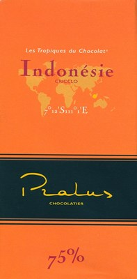 Pralus indonesie dark chocolate bar