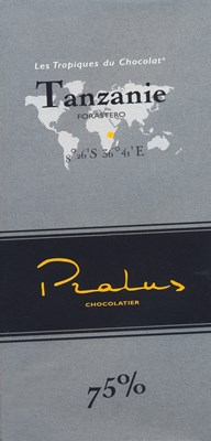 Pralus tanzanie dark chocolate bar