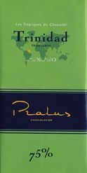 Pralus trinidad dark chocolate bar