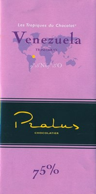 Pralus venezuela dark chocolate bar