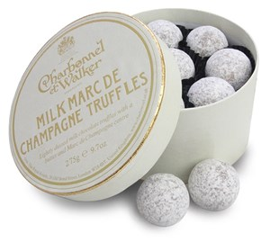 Chocolates Charbonnel et Walker Champagne truffles - 275g Box - Best before: 30 July 2012