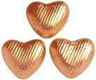 copper chocolate hearts