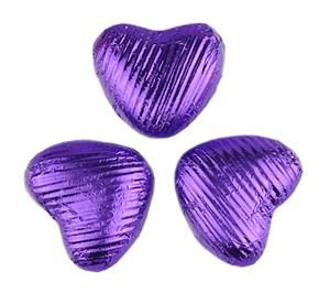 Chocolate Trading Co. Purple Chocolate Hearts