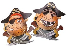 chocolate pirates