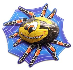 Chocolate spiders  Bulk drum of 35