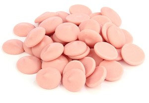 Click to view product details and reviews for Pink Chocolate Chips Large 1000g Bag.