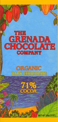 grenada chocolate company 71% bar