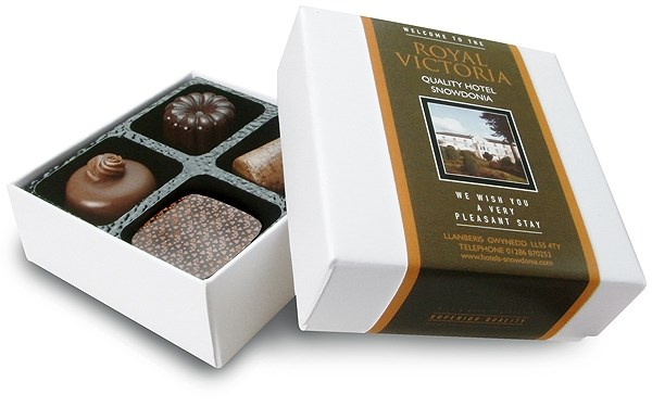 Personalised Chocolate Box For Corporate Chocolate Gifts