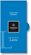 Amedei Toscano Brown milk chocolate bar