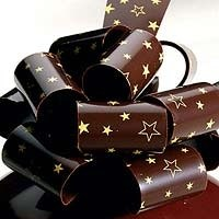 stars chocolate transfer sheets